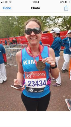 London Marathon Kim