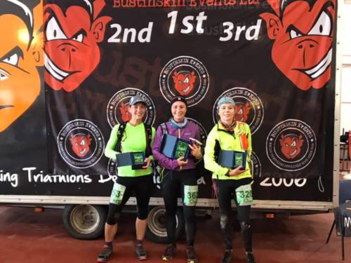 Portland Coastal 10k and half marathon Dorset Sole Sister 3rd place
