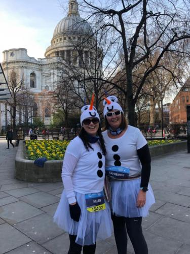 Run For Fun -February Run past a famous landmark
