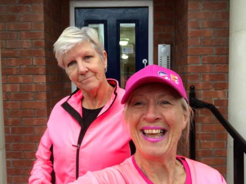 Run for fun  January -Tickled Pink