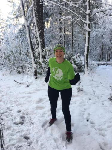 Run for fun - Run in the snow