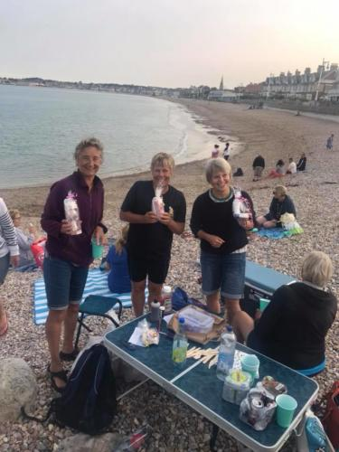 Treasure Hunt winners Weymouth Beach