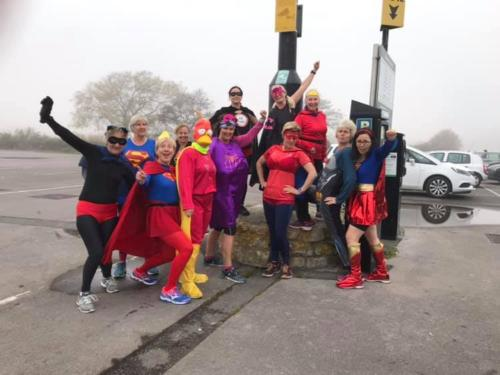 run for fun super heros